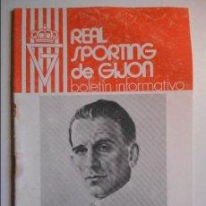 Coleccionismo deportivo: REAL SPORTING DE GIJON. BOLETIN INFORMATIVO. FEBRERO 76.. Lote 77287429