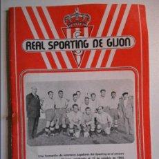 Coleccionismo deportivo: REAL SPORTING DE GIJON. BOLETIN INFORMATIVO. Nº 35. NOVIEMBRE, 77.. Lote 77287573