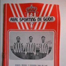 Coleccionismo deportivo: REAL SPORTING DE GIJON. BOLETIN INFORMATIVO. Nº 27. MAYO, 77.. Lote 77287985