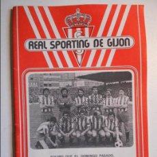 Coleccionismo deportivo: REAL SPORTING DE GIJON. BOLETIN INFORMATIVO. Nº 29. JUNIO, 77.. Lote 77288117