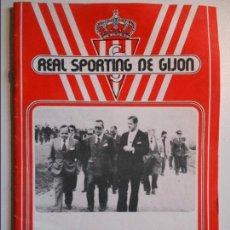 Coleccionismo deportivo: REAL SPORTING DE GIJON. BOLETIN INFORMATIVO. Nº 44. ABRIL, 78.. Lote 77288217