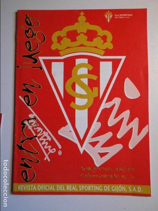 REAL SPORTING DE GIJON. BOLETIN INFORMATIVO. TEMPORADA 98/99. Nº 15. (Coleccionismo Deportivo - Revistas y Periódicos - otros Fútbol)