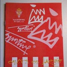 Coleccionismo deportivo: REAL SPORTING DE GIJON. BOLETIN INFORMATIVO. TEMPORADA 98/99. Nº 1.. Lote 77294777