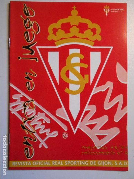 REAL SPORTING DE GIJON. BOLETIN INFORMATIVO. TEMPORADA 98/99. Nº 8. (Coleccionismo Deportivo - Revistas y Periódicos - otros Fútbol)