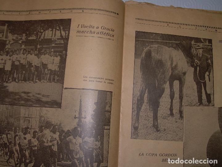 Coleccionismo deportivo: ONCE REVISTAS....DE..EL CAMPEON. - Foto 26 - 56857642