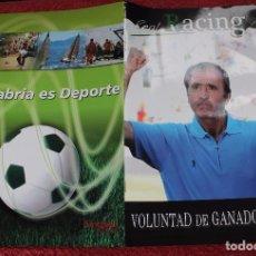 Coleccionismo deportivo: REVISTA OFICIAL REAL RACING DE SANTANDER-Nº 5-JUNIO-AGOSTO 2009. Lote 77625661