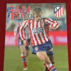 Coleccionismo deportivo: REVISTA FORZA ATLETI 11 GRONKJAER ATLETICO MADRID ALBACETE 2005. Lote 78139985