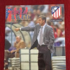 Coleccionismo deportivo: REVISTA FORZA ATLETI 12 FERRANDO ATLETICO MADRID LEVANTE 2005. Lote 78140041