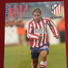 Coleccionismo deportivo: REVISTA FORZA ATLETI 13 ATLETICO MADRID REAL SOCIEDAD 2005 BODAS DE ORO. Lote 78140257