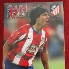 Coleccionismo deportivo: REVISTA FORZA ATLETI 69 KUN AGUERO ATLETICO MADRID REAL MADRID 2008. Lote 78141213