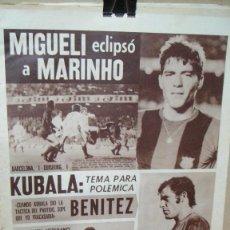 Coleccionismo deportivo: PERIODICO DEPORTIVO DICEN - OCTUBRE DE 1974 - KUBALA , BENITEZ. Lote 78388117