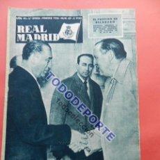 Coleccionismo deportivo: BOLETIN REVISTA OFICIAL REAL MADRID 1956 Nº 67 COPA EUROPA 55/56 PARTIZAN BELGRADO-ARSENAL-JUVENTUS. Lote 79871929