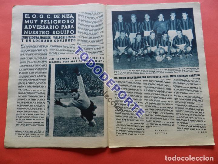 Coleccionismo deportivo: BOLETIN REVISTA OFICIAL REAL MADRID 1957 Nº 78 RAPID VIENA COPA DE EUROPA 56/57-NIZA-MIGUEL MUÑOZ - Foto 2 - 80083481