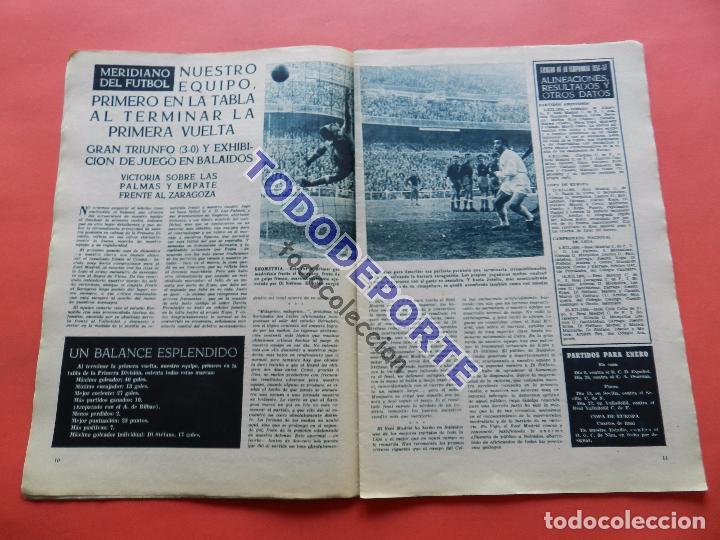 Coleccionismo deportivo: BOLETIN REVISTA OFICIAL REAL MADRID 1957 Nº 78 RAPID VIENA COPA DE EUROPA 56/57-NIZA-MIGUEL MUÑOZ - Foto 4 - 80083481