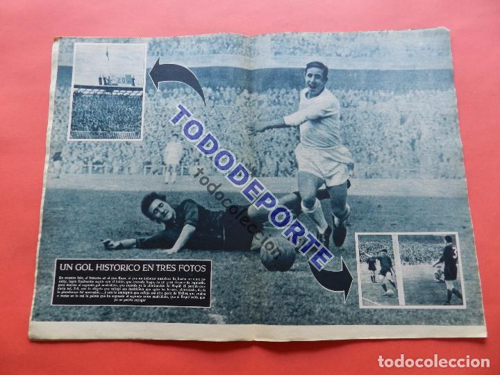 Coleccionismo deportivo: BOLETIN REVISTA OFICIAL REAL MADRID 1957 Nº 78 RAPID VIENA COPA DE EUROPA 56/57-NIZA-MIGUEL MUÑOZ - Foto 6 - 80083481