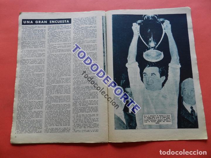 Coleccionismo deportivo: BOLETIN REVISTA OFICIAL REAL MADRID 1957 Nº 78 RAPID VIENA COPA DE EUROPA 56/57-NIZA-MIGUEL MUÑOZ - Foto 7 - 80083481