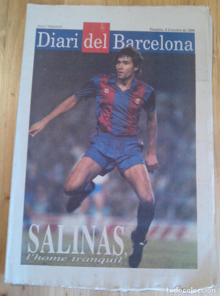 DIARI DEL BARCELONA - Nº 8 - OCTUBRE 1990 (Coleccionismo Deportivo - Revistas y Periódicos - otros Fútbol)