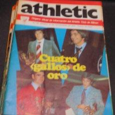 Coleccionismo deportivo: REVISTA ATHLETIC Nº 35 10 NOVIEMBRE 1975 EN PORTADA CUATRO GALLOS DE ORO. Lote 80103981