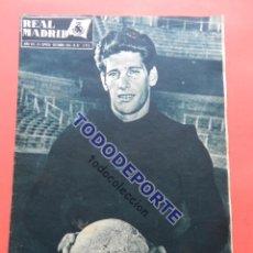 Coleccionismo deportivo: BOLETIN REVISTA OFICIAL REAL MADRID 1957 Nº 87 COPA DE EUROPA 57/58 MANCHESTER UNITED NOU CAMP. Lote 80300313