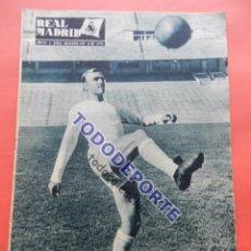Coleccionismo deportivo: BOLETIN REVISTA OFICIAL REAL MADRID 1957 Nº 88 COPA DE EUROPA 57/58 SANTAMARIA WOLVERHAMPTON. Lote 80300509