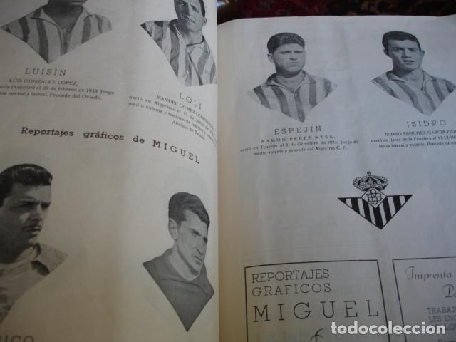 Coleccionismo deportivo: EL BETIS CAMPEON HOMENAJE ASCENSO A PRIMERA 1957-58.GRAN FOLIO FOTOS BUEN ESTADO EN GENERAL - Foto 2 - 80445873