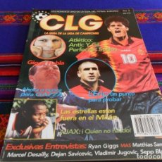 Coleccionismo deportivo: CLG LA GUÍA DE LA LIGA DE CAMPEONES 1996 1997 96 97 Nº 2. 500 PTS. ATLÉTICO DE MADRID. MBE. RARA. . Lote 80477333