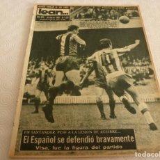 Coleccionismo deportivo: (ML)LEAN(20-3-61)BARÇA 8 GRANADA 2,MALLORCA 4 ZARAGOZA 0,TARRASA 1 CORUÑA 1,3ª DIVISION,TENIS.. Lote 80802647