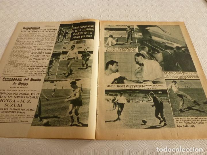 Coleccionismo deportivo: (ML)LEAN(17-4-61)PROX.GALES-ESPAÑA,IGNACIO ZOCO,TRAS EL BARÇA-HAMBURGO COPA EUROPA,POBLET CAMPEÓN. - Foto 3 - 80803871