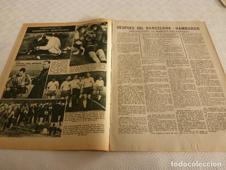 Coleccionismo deportivo: (ML)LEAN(17-4-61)PROX.GALES-ESPAÑA,IGNACIO ZOCO,TRAS EL BARÇA-HAMBURGO COPA EUROPA,POBLET CAMPEÓN. - Foto 4 - 80803871
