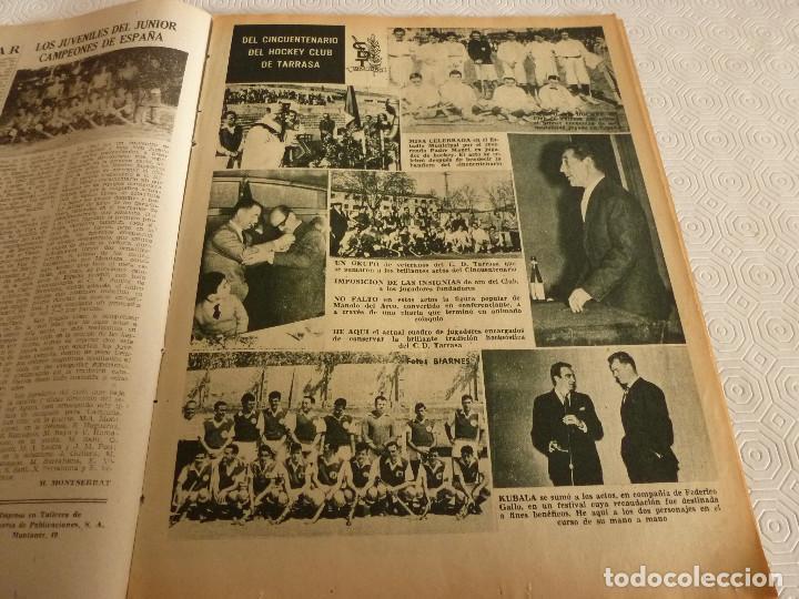 Coleccionismo deportivo: (ML)LEAN(17-4-61)PROX.GALES-ESPAÑA,IGNACIO ZOCO,TRAS EL BARÇA-HAMBURGO COPA EUROPA,POBLET CAMPEÓN. - Foto 6 - 80803871