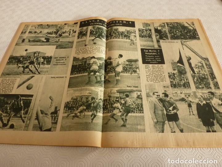 Coleccionismo deportivo: (ML)LEAN(17-4-61)PROX.GALES-ESPAÑA,IGNACIO ZOCO,TRAS EL BARÇA-HAMBURGO COPA EUROPA,POBLET CAMPEÓN. - Foto 7 - 80803871
