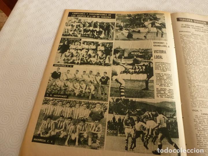 Coleccionismo deportivo: (ML)LEAN(17-4-61)PROX.GALES-ESPAÑA,IGNACIO ZOCO,TRAS EL BARÇA-HAMBURGO COPA EUROPA,POBLET CAMPEÓN. - Foto 8 - 80803871