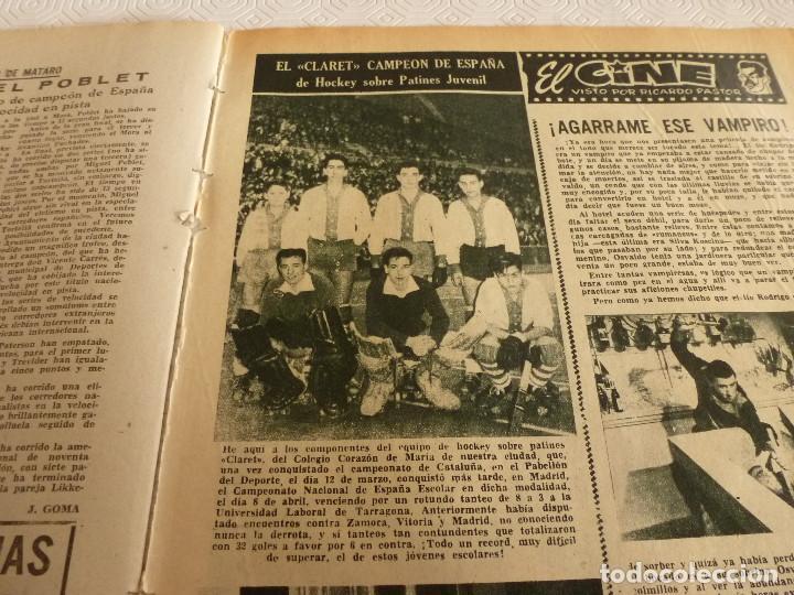 Coleccionismo deportivo: (ML)LEAN(17-4-61)PROX.GALES-ESPAÑA,IGNACIO ZOCO,TRAS EL BARÇA-HAMBURGO COPA EUROPA,POBLET CAMPEÓN. - Foto 9 - 80803871