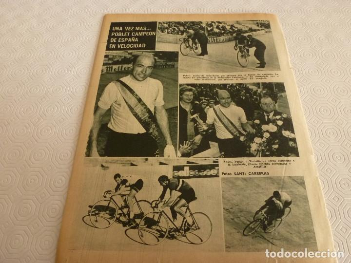 Coleccionismo deportivo: (ML)LEAN(17-4-61)PROX.GALES-ESPAÑA,IGNACIO ZOCO,TRAS EL BARÇA-HAMBURGO COPA EUROPA,POBLET CAMPEÓN. - Foto 12 - 80803871