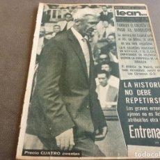 Coleccionismo deportivo: (ML)LEAN(2-1-61)OVIEDO 1 BARÇA 0,ESPAÑOL 0 ATH.BILBAO 1,SABADELL 2 BASCONIA 1,3ª DIV.CATALANA. Lote 81067720