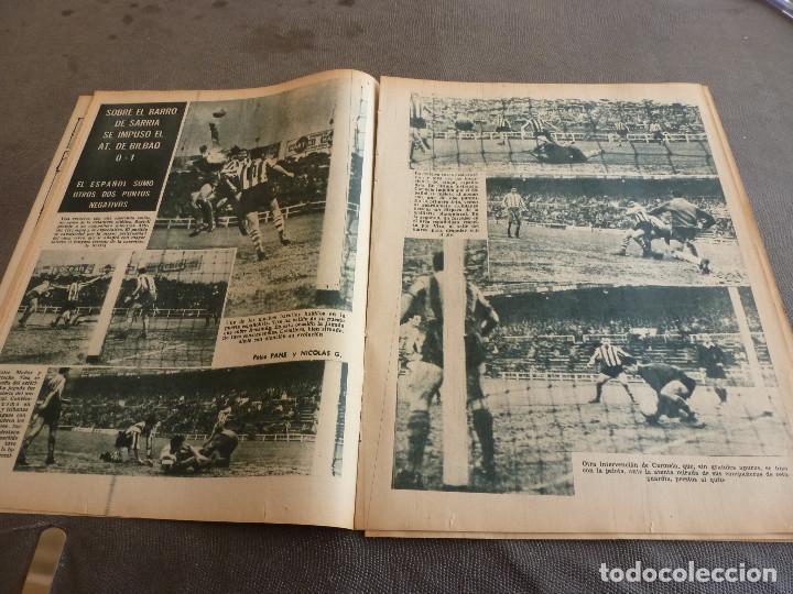 Coleccionismo deportivo: (ML)LEAN(2-1-61)OVIEDO 1 BARÇA 0,ESPAÑOL 0 ATH.BILBAO 1,SABADELL 2 BASCONIA 1,3ª DIV.CATALANA - Foto 4 - 81067720