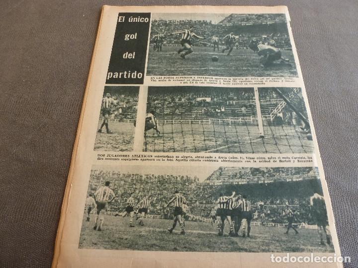 Coleccionismo deportivo: (ML)LEAN(2-1-61)OVIEDO 1 BARÇA 0,ESPAÑOL 0 ATH.BILBAO 1,SABADELL 2 BASCONIA 1,3ª DIV.CATALANA - Foto 5 - 81067720
