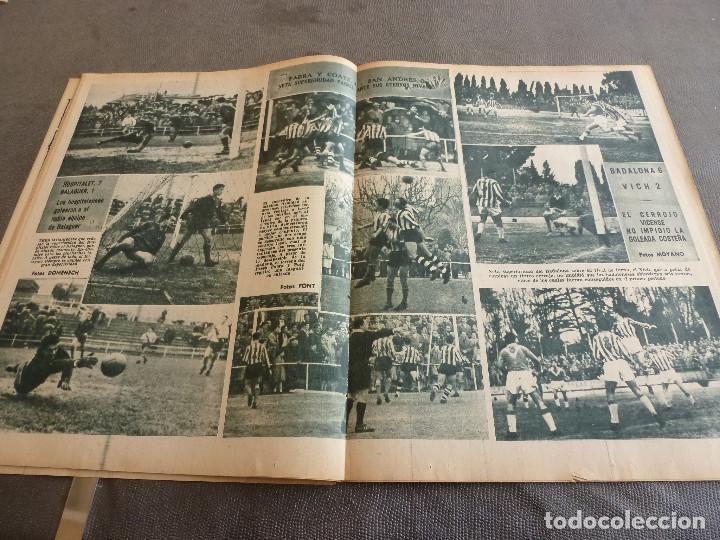 Coleccionismo deportivo: (ML)LEAN(2-1-61)OVIEDO 1 BARÇA 0,ESPAÑOL 0 ATH.BILBAO 1,SABADELL 2 BASCONIA 1,3ª DIV.CATALANA - Foto 6 - 81067720