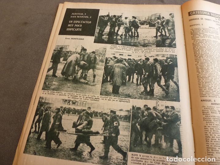 Coleccionismo deportivo: (ML)LEAN(2-1-61)OVIEDO 1 BARÇA 0,ESPAÑOL 0 ATH.BILBAO 1,SABADELL 2 BASCONIA 1,3ª DIV.CATALANA - Foto 8 - 81067720