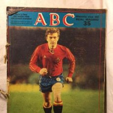 Coleccionismo deportivo: RM401 VARIAS REVISTAS JUNTAS ABC HISTORIA VIVA DEL REAL MADRID. Lote 81210472