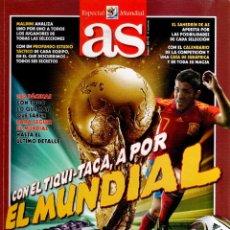 Coleccionismo deportivo: ESPECIAL MUNDIAL - CON EL TIQUI-TACA, A POR EL MUNDIAL - AS. Lote 81628600