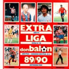 Coleccionismo deportivo: EXTRA LIGA DON BALON 89/90. Lote 96096816