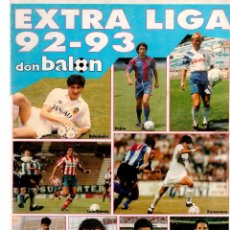 Coleccionismo deportivo: EXTRA LIGA DON BALON 92/93. Lote 81629684