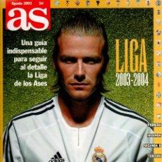 Coleccionismo deportivo: LA GUÍA MÁS COMPLETA Y ACTUALIZADA - LIGA 2003-2004 - AS. Lote 81756508