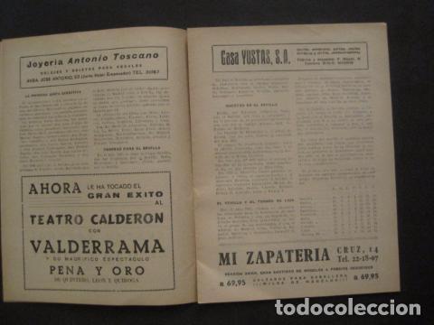 Coleccionismo deportivo: HISTORIA DEL SEVILLA CLUB DE FUTBOL-1905-1950 - EL BALON DICIEMBRE 1950 -VER FOTOS -(V-10.242) - Foto 4 - 81813680