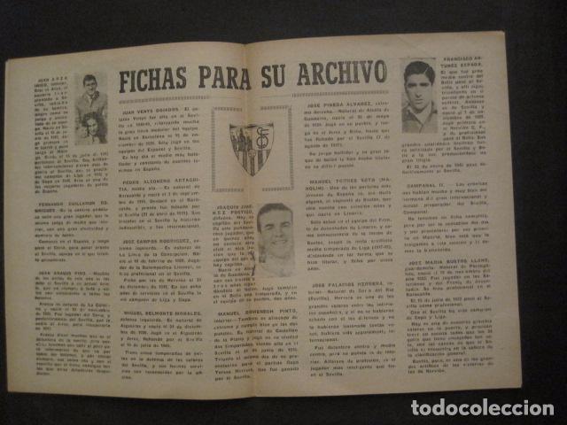 Coleccionismo deportivo: HISTORIA DEL SEVILLA CLUB DE FUTBOL-1905-1950 - EL BALON DICIEMBRE 1950 -VER FOTOS -(V-10.242) - Foto 6 - 81813680