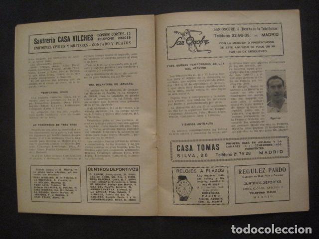 Coleccionismo deportivo: HISTORIA DEL SEVILLA CLUB DE FUTBOL-1905-1950 - EL BALON DICIEMBRE 1950 -VER FOTOS -(V-10.242) - Foto 7 - 81813680