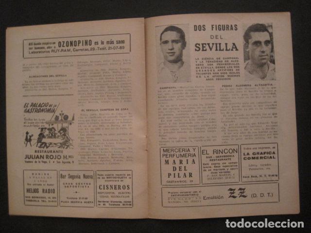 Coleccionismo deportivo: HISTORIA DEL SEVILLA CLUB DE FUTBOL-1905-1950 - EL BALON DICIEMBRE 1950 -VER FOTOS -(V-10.242) - Foto 8 - 81813680