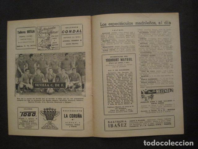 Coleccionismo deportivo: HISTORIA DEL SEVILLA CLUB DE FUTBOL-1905-1950 - EL BALON DICIEMBRE 1950 -VER FOTOS -(V-10.242) - Foto 9 - 81813680