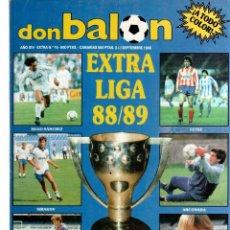 Coleccionismo deportivo: DON BALON EXTRA DE LA LIGA 88/89. Lote 81990232